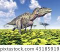 Dinosaur Acrocanthosaurus 43185919