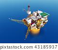 Oil platform 43185937