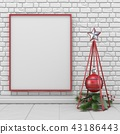bauble blank christmas 43186443