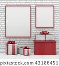 blank christmas decoration 43186451