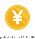 ประเทศญี่ปุ่น,เหรียญ,เงินสด 43186886