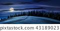landscape, hill, forest 43189023