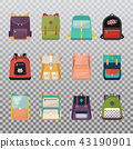 Children or kids school bags or rucksacks 43190901