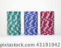 賭場 錢幣 顆粒 43191942
