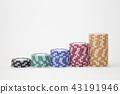 錢幣 顆粒 頂端 43191946