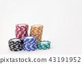 賭場 錢幣 顆粒 43191952