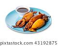 squid, food, sauce 43192875