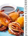 squid, food, sauce 43192889