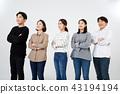 친구,동료,남자,여자,한국인 43194194