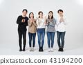 朋友,同事,男人,女人,韓國人 43194200