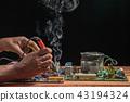 Computer motherboard repair by soldering 43194324
