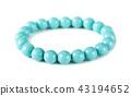Pearl blue bracelet 43194652
