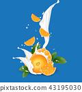 yogurt, orange, juice 43195030