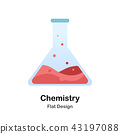 Chemistry Flat Illustration 43197088
