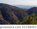 Santa Monica Mountains in Brentwood, Los Angeles 43198462