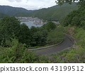 mie prefecture, brocade, fishing port 43199512