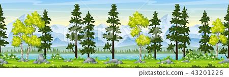 Rual Summer Landscape 43201226