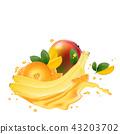 mango banana juice 43203702