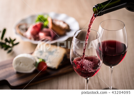 紅酒和食物 43204095