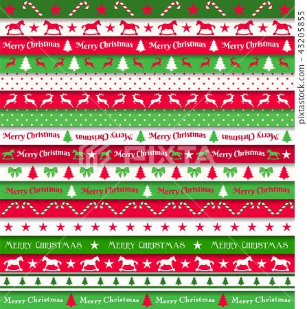 Cristmas ribbons 43205855