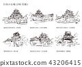 Castle of Japan (100 Great castles) 43206415