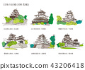 Castle of Japan (100 Great castles) 43206418