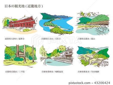 일본 관광지 (긴키 지방) 43206424