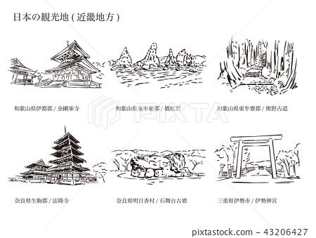 일본 관광지 (긴키 지방) 43206427