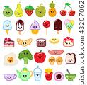 food character kawaii 43207062