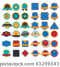 Vintage Retro Vector Logo for banner 43209343