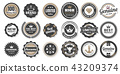 Vintage Retro Vector Logo for banner 43209374