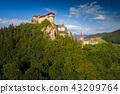 castle, tower, landscape 43209764