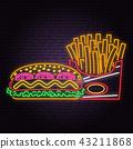 bread, food, neon 43211868