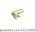 frog animals template vector app logo 43212468