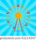 Vector Illustration of Color Attraction Festival 43214347