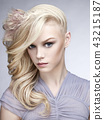 Sexy blonde 43215187