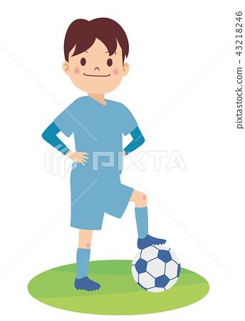A soccer boy 43218246
