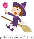 万圣节服装女巫 43218653