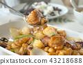 fried chicken stir with cashew nut in sweet source 43218688