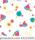 flower, flowers, pattern 43222691