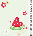 flower, flowers, pattern 43222698