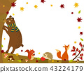 Fall animals - fall forest 43224179