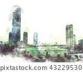 城市 城市风光 城市景观 43229530