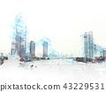 城市 城市风光 城市景观 43229531