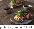 breakfast, dining, table 43230982