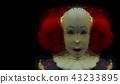 Dark creepy joker face scare haunt 43233895
