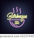 barbeque neon bbq 43237449