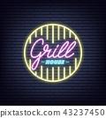 grill neon light 43237450