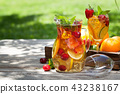 Homemade lemonade or sangria 43238167