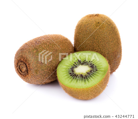 Kiwi fruit isolated on white background 43244771
